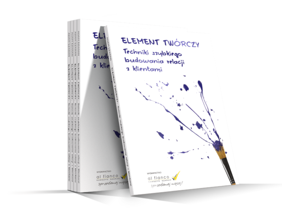 Element twórczy. Techniki szybkiego budowania relacji z klientami (Audiobook)
